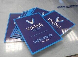 Plastikust sildid - Viking Security