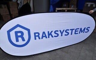 Logoga softbänner - Raksystems