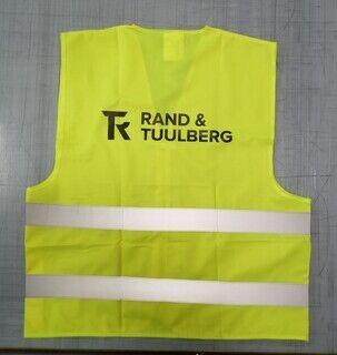 Logoga helkurvest - Rand & Tuulberg