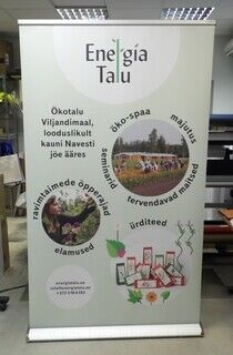 Roll up stend - Energia Talu