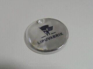 Logoga helkur - Lipuvabrik