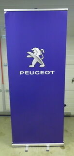 Roll up stend - Peugeot
