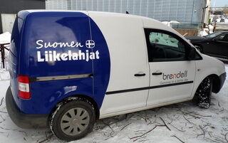 Suomen liikelahjat - reklaamauto