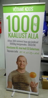 Roll-up Kaalust alla
