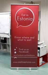 Eat in Estonia rullaständi