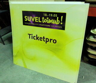 Ticketpro mainostaulu