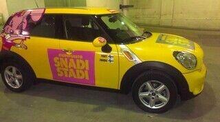 Auton yliteippaus SnadiStadi