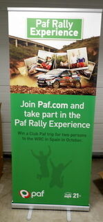 Roll-up Paf Rally Experience