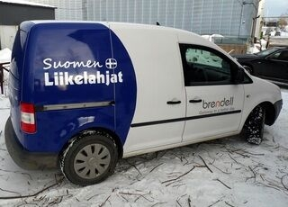 Suomen Liikelahjat tarramainos