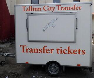 Trailerin mainostarrat Tallinn City Transfer