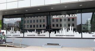 Beauty Plaza ikkunatarrat