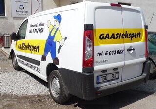 Auton teippaus Gaasiekspert