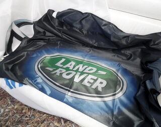 Logoilippu Land Rover