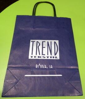 Paperikassi Trend Tekstiil
