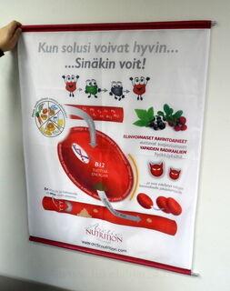 Lipukankaasta banneri Nutrition