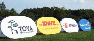 Kaksipuoliset Soft bannerit