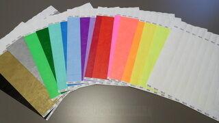 Värivalikoima rannekeelle