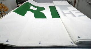 Reikkävinyyli banderolli Riito Ehitus