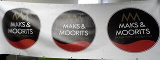PVC bänneri Maks&Moorits