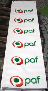 PVC bänneri Paf