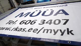 PVC bänner Riga Kinnisvara