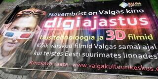 PVC banderolli Valga Kultuurikeskus