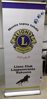 Roll up Exclusive Lions Club Lappeenranta Rakuuna