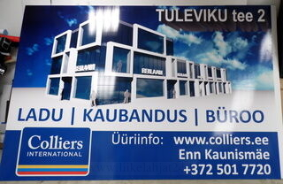 Bip levy kyltti Colliers Inetrnational