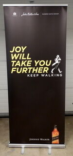 Classic Roll Up 850x2000 mm Johnnie Walker