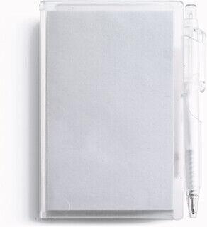 muistikirja with pen