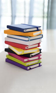 Note book with a soft PU cover
