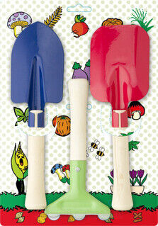 Garden tool setti for children.