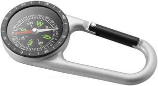 Compass carabiner