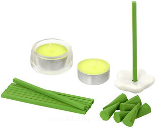Incense set apple