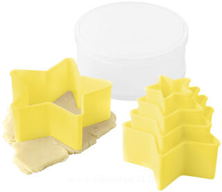 5 piece cookie cutter set