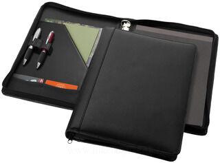 Harvard A4 leather zipper portfolio deluxe