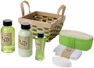 Green tea bath set