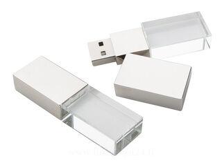 crystal USB muistitikku