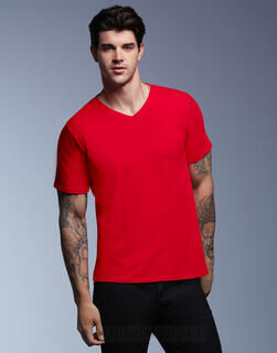 Adult Featherweight V-Neck Tee 3. kuva