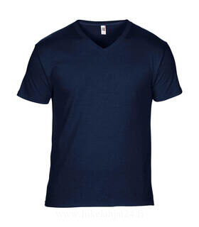 Adult Featherweight V-Neck Tee 6. kuva
