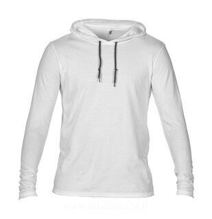 Adult Fashion Basic LS Hooded Tee 15. kuva