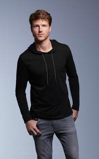 Adult Fashion Basic LS Hooded Tee 9. kuva