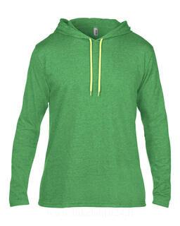 Adult Fashion Basic LS Hooded Tee 6. kuva
