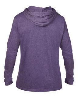 Adult Fashion Basic LS Hooded Tee 12. kuva