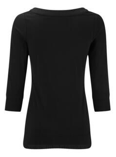 3/4 Sleeve Stretch Top 7. kuva