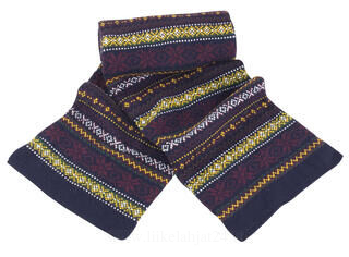 Arran Heavy Knit Scarve