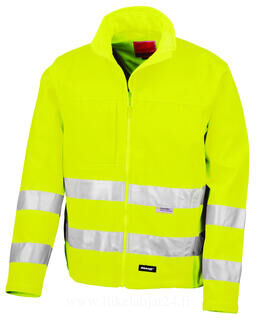 High-Viz Soft Shell Jacket 2. kuva