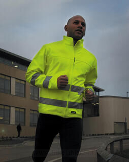 High-Viz Soft Shell Jacket 4. kuva