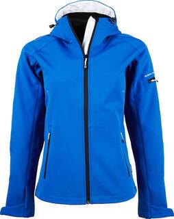 Ladies Hooded Fashion Softshell Jacket 4. kuva