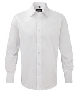 Fitted Longsleeve Stretch Shirt